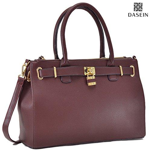dasein-womens-new-padlock-top-handle-satchel-shoulder-bag-handbag-designer-purse-double-zipper