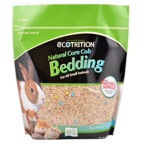 Ecotrition Natural Corn Cob Bedding for Small Animals, 10...