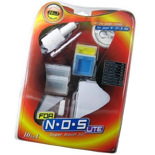 10 in 1 Travel Kit for DS Lite