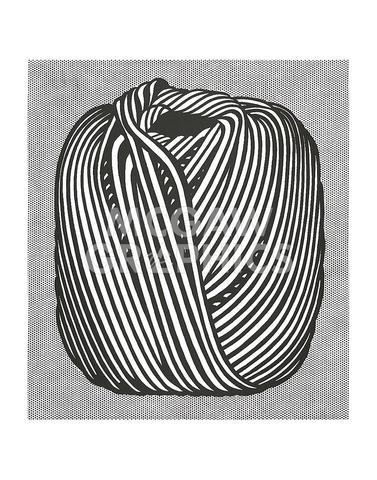 Ball of Twine, 1963 - Pop Art Poster by Roy Lichtenstein (11 x 14)