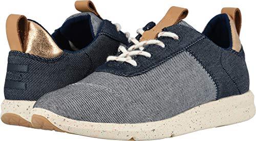 (TOMS Desert Wedge Boot - Women's (9 B(M) US, Black Dotted Wool))