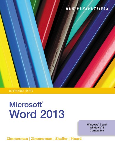 New Perspectives on Microsoft Word 2013, Introductory (What's New for Applications?) Pdf