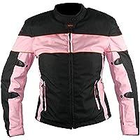 Xelement CF462 Womens Black/Pink Tri-Tex Fabric...