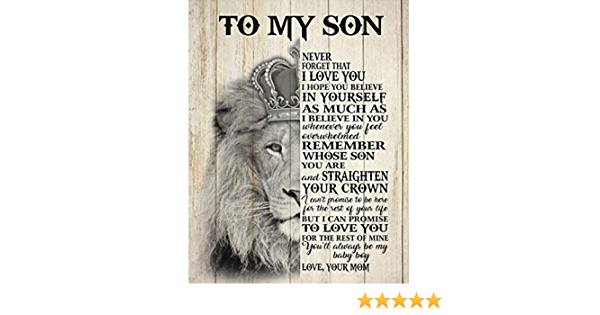 No Frame The Lion King Never Forget Who You Are Portrait Poster