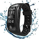 S908 GPS Running Tracker With Heart Rate Sleep Monitor Sedentary Reminder Pedometer IP68 Waterproof Fitness Tracker Smart Bands for iPhone Android