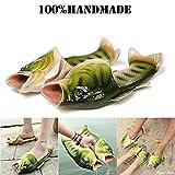 Fish Animal Slippers Character Flip Flops Summer Beach Sandals Shower Slippers Non-slip Beach Shoes Wear for Women Men Casual Shoe
