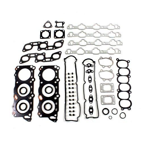Nissan 300zx Engine (CNS EH937T1 Graphite Cylinder Head Gasket Set for Nissan 300ZX & 300ZX Twin Turbo, Infiniti J30 3.0L DOHC 2960cc V6 VG30DE VG30DETT Engine 90-96)