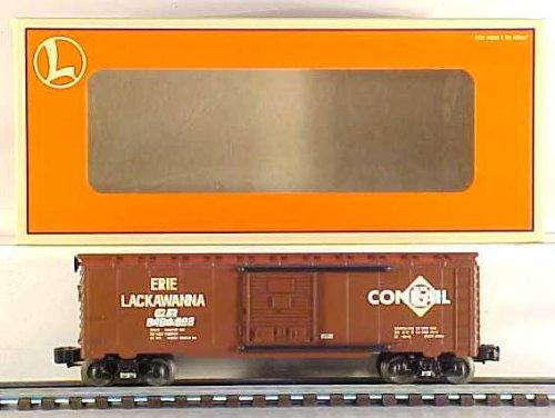Conrail Boxcar - Lionel 6-29234 Conrail Overstamp Erie Boxcar 6464-698