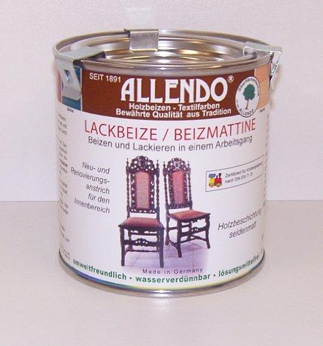 Allendo Beizmatine 375 ml Beizen und lackieren in einem Arbeitsgang (Nußbaum)