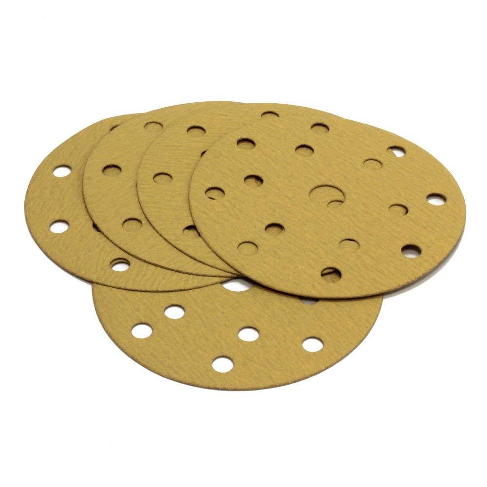 gold // green // red 150/mm Woltersberger sanding disc green