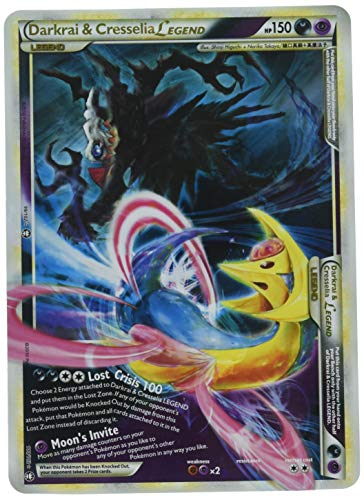 (Darkrai and Cresselia Legend Jumbo Oversized Pokemon Card)