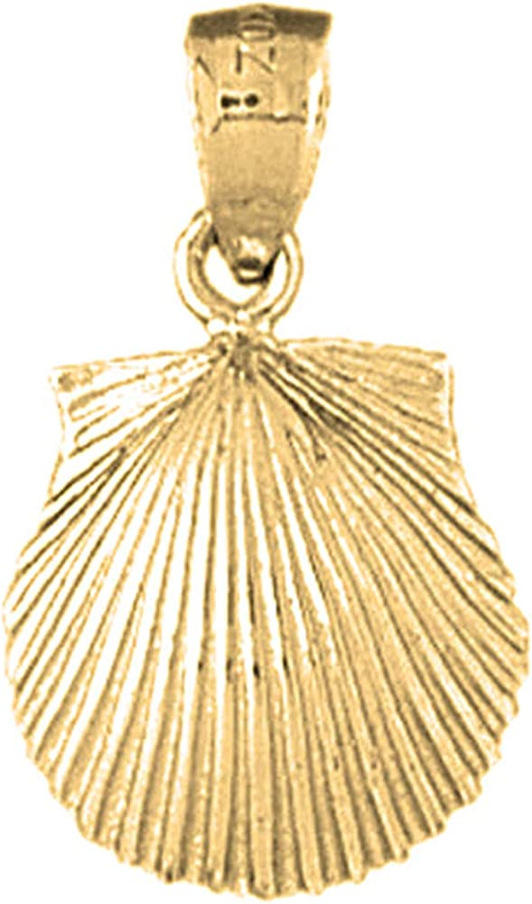 Jewels Obsession King Tut Pendant 14K Rose Gold King Tut Pendant 23 mm