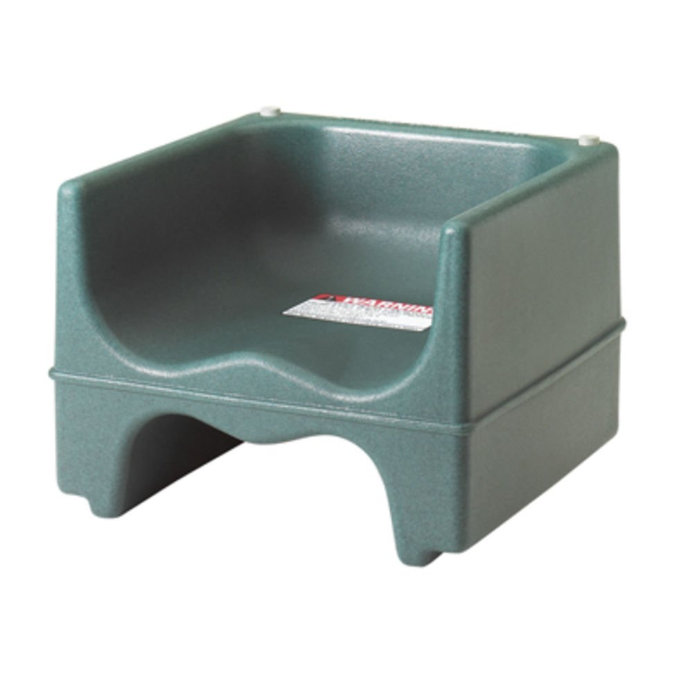 Booster Seat, Dual Height, Polyethylene, (Must Order In Multiples Of 4 Ea.), Green (4 Pieces/Unit)