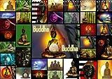 Buddha (Wandkalender 2014 DIN A3 quer): Buddha - Religion - Buddhismus (Monatskalender, 14 Seiten)