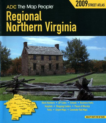 (ADC The Map People Regional Northern Virginia (American Map Regional Street Atlas: Northern Virginia))