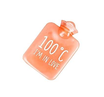 Mini calentador de la mano de la botella de agua caliente de la historieta 400 ML