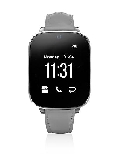 Unotec Reloj Bluetooth Watch-Bt5 Gris