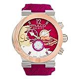 Mulco MW5-3567-523 Gravity Jupiter Swiss Chronograph Fuchsia Watch