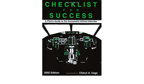 Checklist for Success: A Pilot's Guide to the Successful