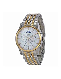 Oris Artelier Complication Silver Dial Mens Watch 01 582 7689 4351-07 8 21 78