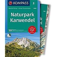 Naturpark Karwendel: Wanderführer mit Extra-Tourenkarte 1:35.000, 50 Touren, GPX-Daten zum Download.: Wandelgids met overzichtskaart (KOMPASS-Wanderführer, Band 5660)