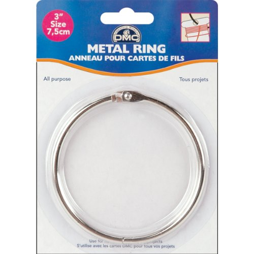 DMC 6111D Metal Craft Ring, 3-Inch