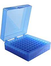 Heathrow Scientific 100 Well Storage Box, Blue, Pack 5