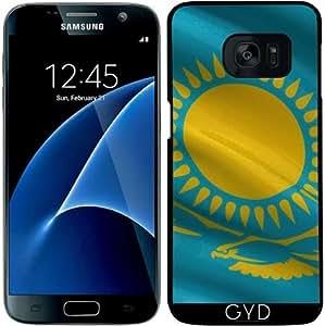Funda para Samsung Galaxy S7 - Bandera De Kazajstán by Carsten Reisinger