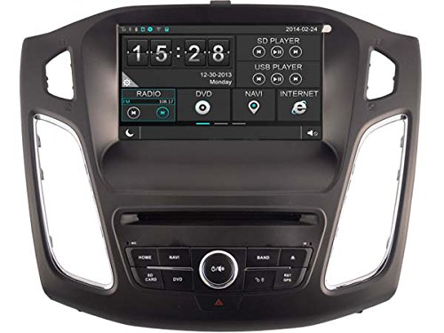 Witson Capacitive Touch Screen Car DVD GPS Sat Navigation Head Unit Auto Radio for Ford Focus 2012 2013 2014 2015 in Dash Navigation System, Navigator, Built in Bluetooth A2dp