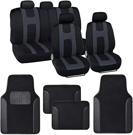 Black with Triangles The Original Dooky 126822 Universal Car Seat Cover Group 0