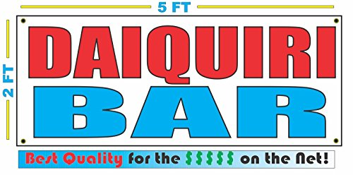 DAIQUIRI BAR Banner Sign ()