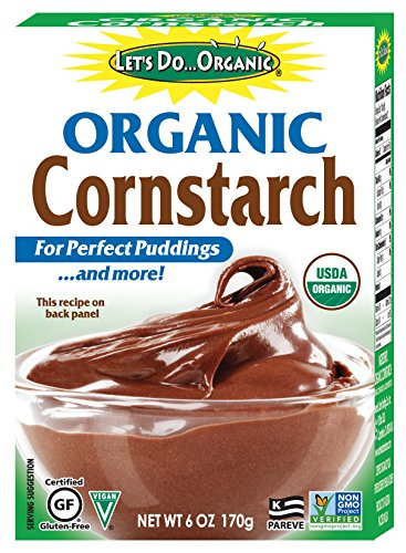 Let's Do...Organic Organic Cornstarch, 6 Ounce Boxes (Pack of 6)