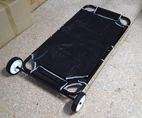 - Pet Animal Transport Stretcher Dog Emergency Carry Stretcher for Large Dog In Black