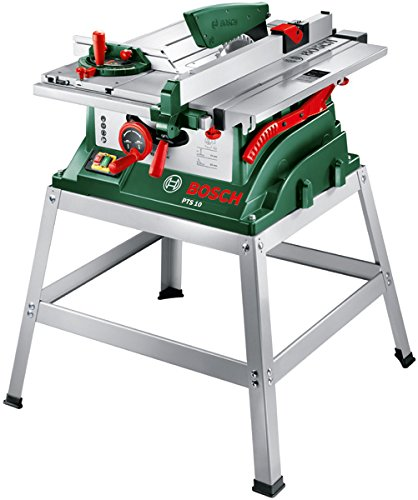 Bosch PTS 10 T Table Saw & Metal Stand (0603B03401): Amazon
