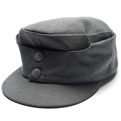 (Genuine Finnish army M65 field cap. Finland military issue surplus wool hat (Large) )