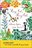 Pocket Posh Cat Lover's Puzzle and Quiz Book, Puzzle Society Staff, 1449450601