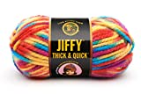 Lion Brand Yarn 430-208B Jiffy Thick and Quick Yarn, Rocky Mountains