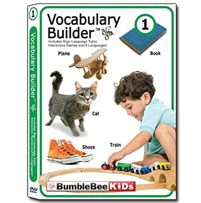 Bumblebee Kids Vocabulary Builder 1 by Baby Bumblebee