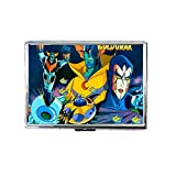ufo robot grendizer anime manga goldorak grim looking robots Custom Personalized Stainless Steel Silver Cigarette Case Holder Box Card Wallet