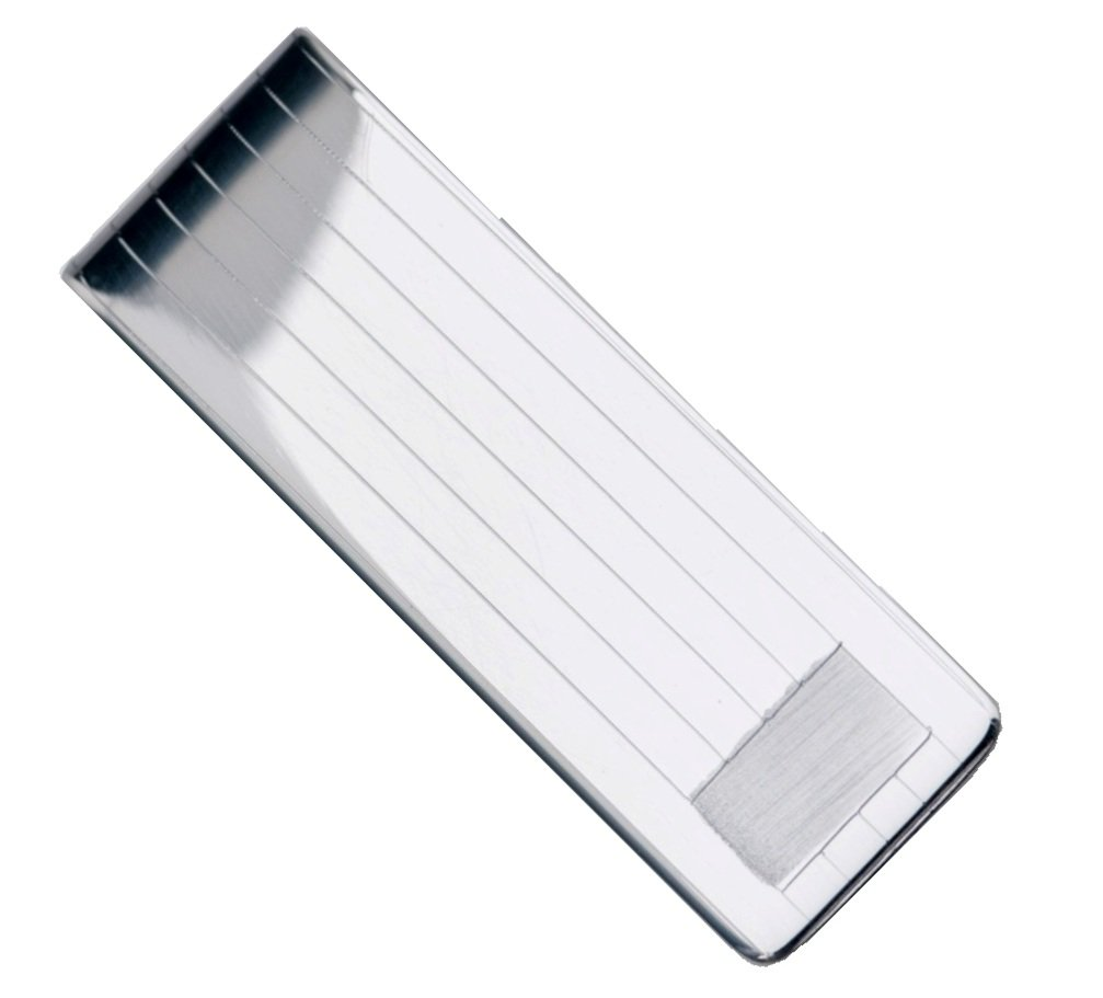 Sterling Silver .925 Solid Striped Design Engravable Money Clip. Designed and Made In Italy. By Sterling Manufacturers