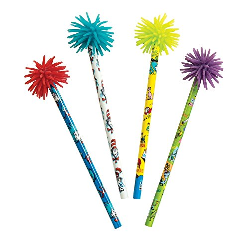 Raymond Geddes Dr. Seuss Rainbow Writer Pencil, 24 Pack (69440)
