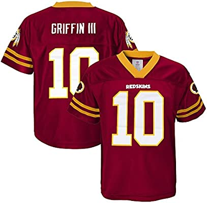 887caaa52 Outerstuff Robert Griffin III NFL Washington Redskins Dazzle Replica Jersey  Youth (XS-2XL)