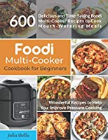 Foodi Multi-Cooker Cookbook for Beginners Front Cover