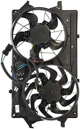 APDTY 732414 Dual Cooling Fan Assembly W//Resistor