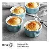 DOWAN 4 oz Ramekins - Ramekins for Creme Brulee