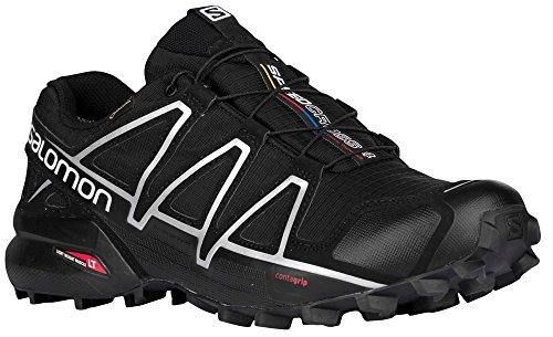De Gtx silver Chaussures Homme Trail Black 4 Salomon black x Metallic Speedcross xw74RqfI