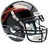 NCAA Florida State Seminoles Authentic XP Football Helmet, Black