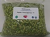 lane split - Green Split Peas Green 4 Pounds (Four lbs) USDA Certified Organic Non-GMO BULK