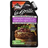 La Grille, Grilling Made Easy, Burgers Sauce Mix-Ins, Sweet Mesquite & Caramelized Onion, 70ml