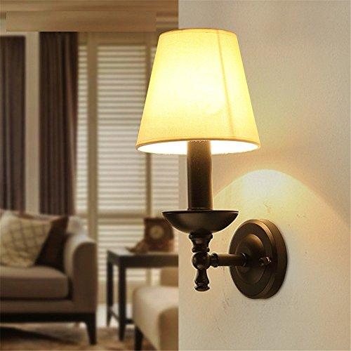 À Lampe Style Salon De Mural Coucher American Chambre L'éclairage 7vgyY6bf